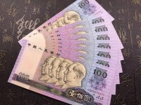 旧90年100元人民币