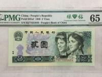 1980年版2元人民币