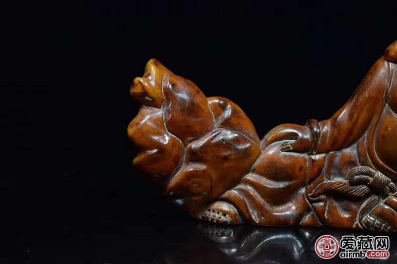 鹿角  手工雕刻 弥罗佛