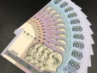 1990年老版人民币100元