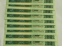 90年版2元绿幽灵币