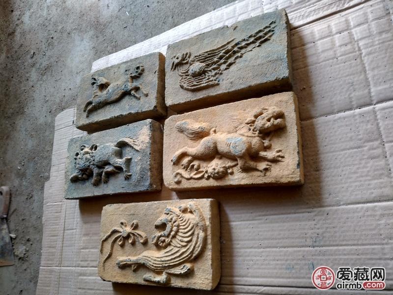宋代 高浮雕画像砖