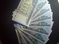 1990年的纸币100