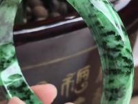 冰芙蓉种翡翠手镯价格