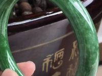紫罗兰豆种翡翠手镯价格