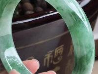 圆条厚庄翡翠手镯价格