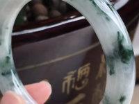 清代三色刻龙翡翠手镯价格
