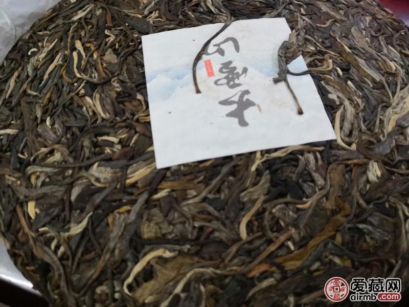 一片拍357克临沧茶区大
