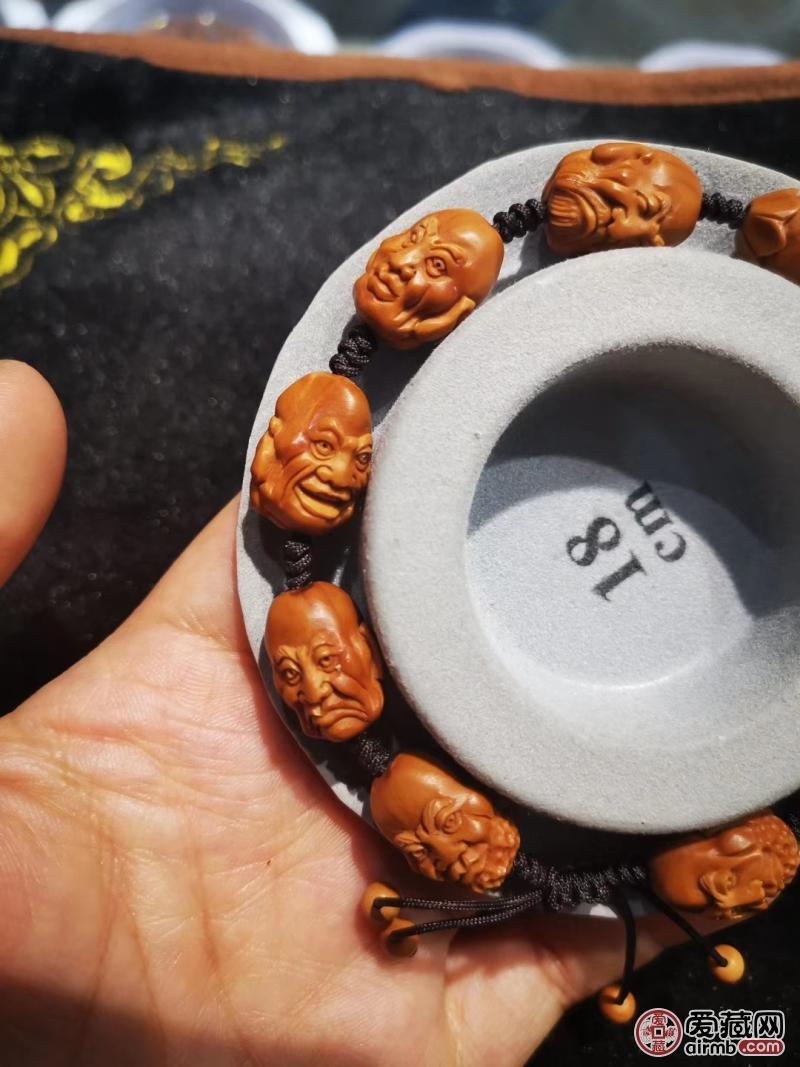 橄榄核雕刻十八罗汉尺寸我