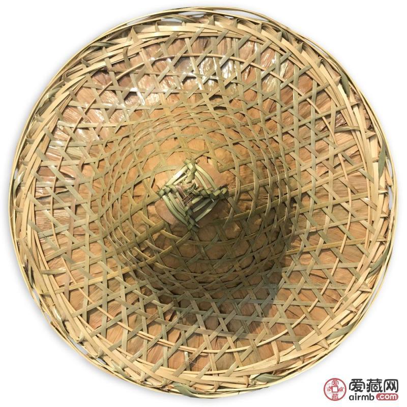 大型天然竹编帽一顶手工编