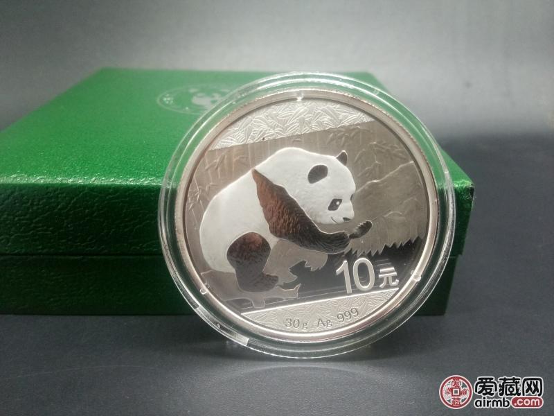 2016年熊猫银币,详细