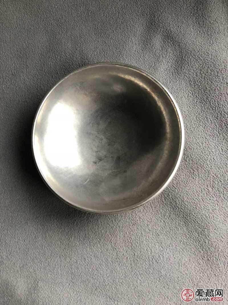 藏银百福碗,工艺精湛。品