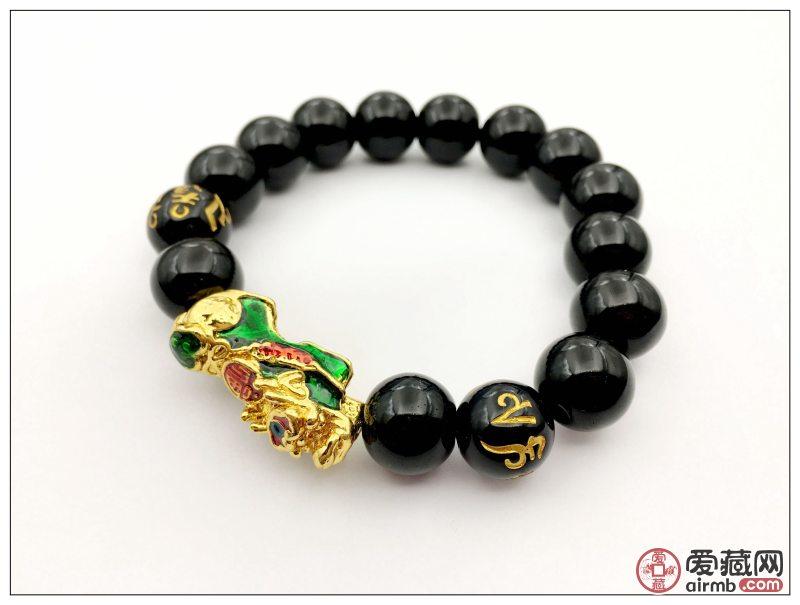 景泰蓝貔貅手链每天限