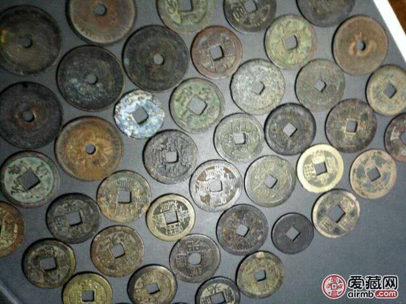 低价转让50枚古钱币,能