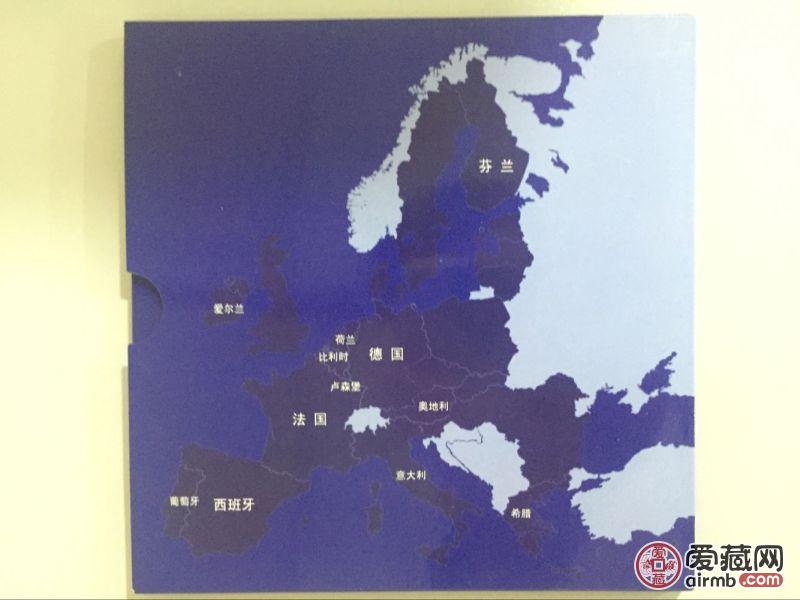 欧盟十二国硬币带册装