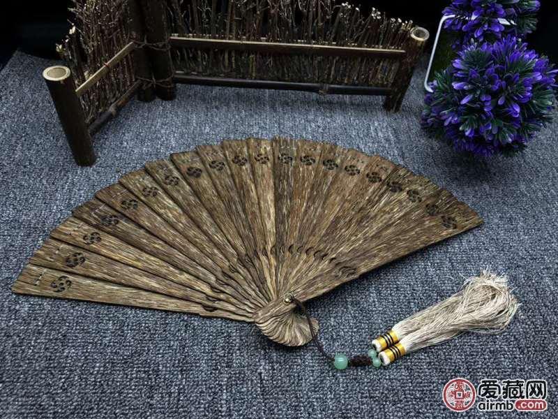 【沉香系列】越南沉香片扇